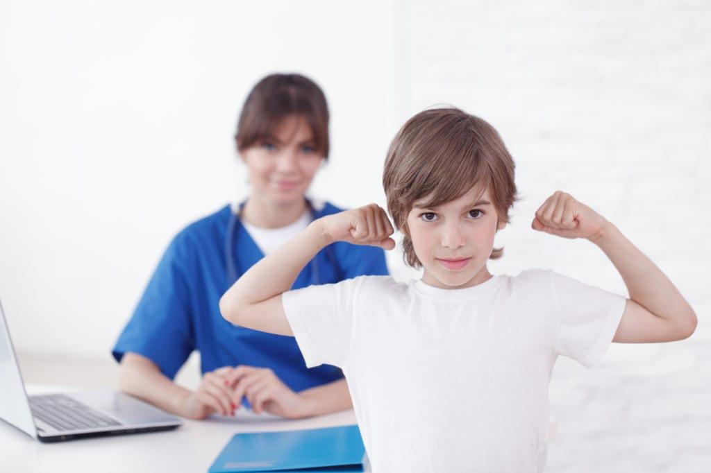 Myogen in pediatria
